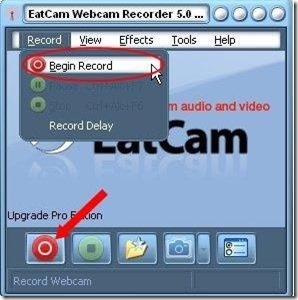 EatCam WebCam Recorder