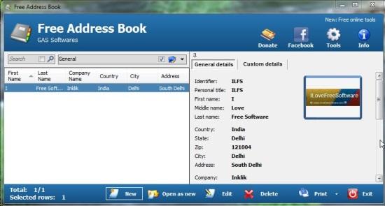 Free Address Book