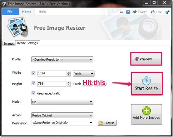 Free Image Resizer-image resizer-resize menupg