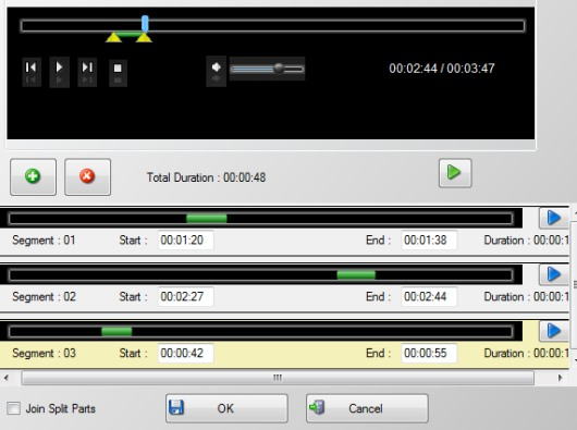 Free Video To MP3 converter- clip option