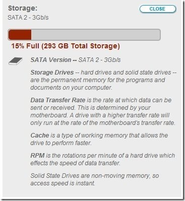 Hard Drive Info