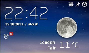 Havvas Weather default window