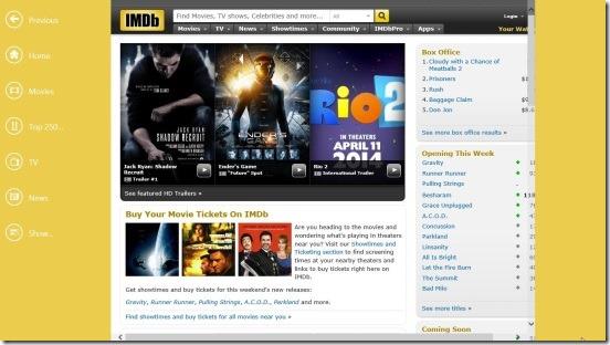 IMDb HD - Home