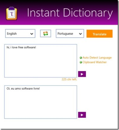 Instant Dictionary - translation