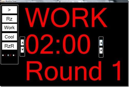 Joss WorkOut Timer