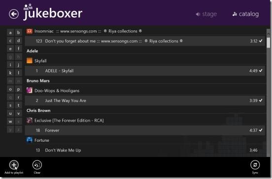Jukeboxer - catalog