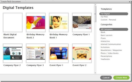 Lucidpress-digital publishing-templates