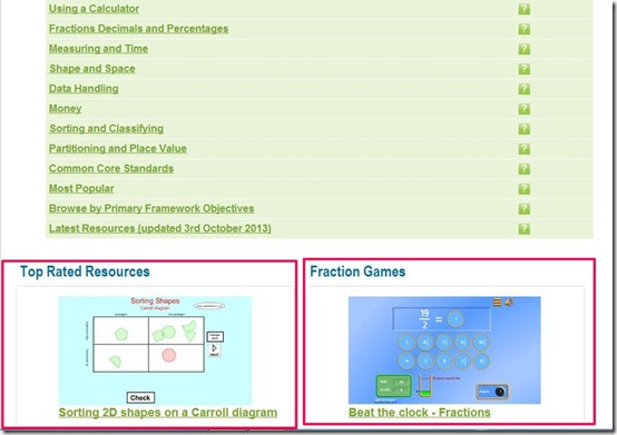 MAtHSFRAME-math games-resource list