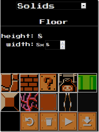 Mario Level Editor
