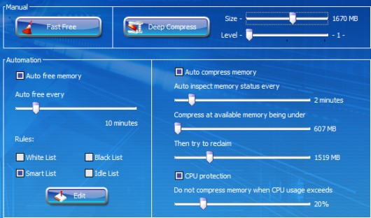Memory Improve Master Free Version- auto compress system memory
