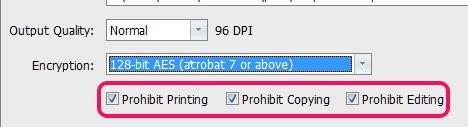 PDF Freeze- encrypt output pdf image