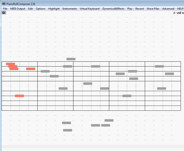 PianoRollComposer default window