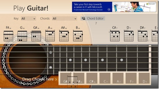 Play Guitar! - chord box to form notes