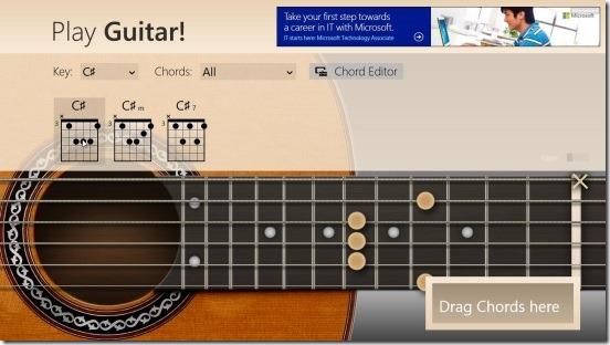 Play Guitar! - chord play
