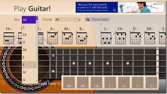 windows 8 guitar app free play guitar. Black Bedroom Furniture Sets. Home Design Ideas
