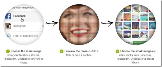 5 Free Online Photo Mosaic Maker To Create Mosaic Picture