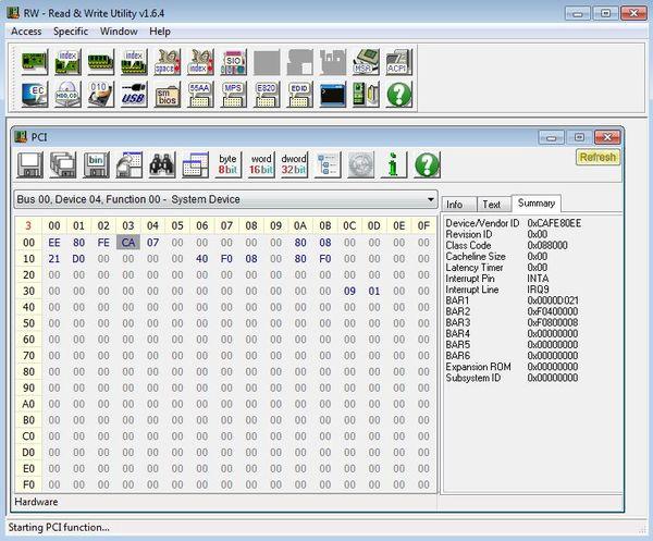RWEverything default window