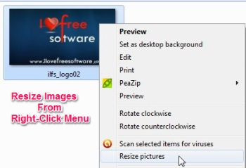 Right Click Image Resizer - Featured