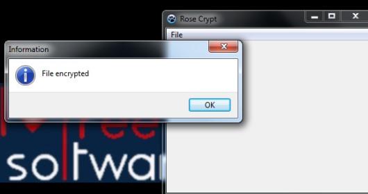 Rose Crypt- file encryption software