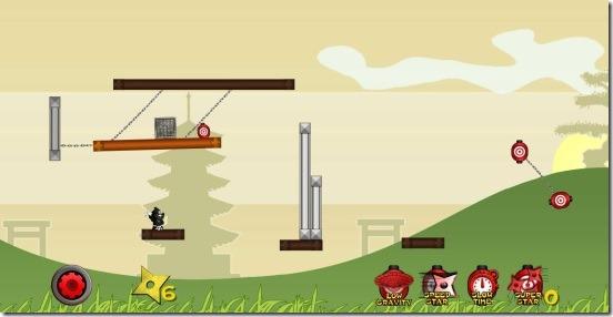 Shuriken Ninja - gameplay