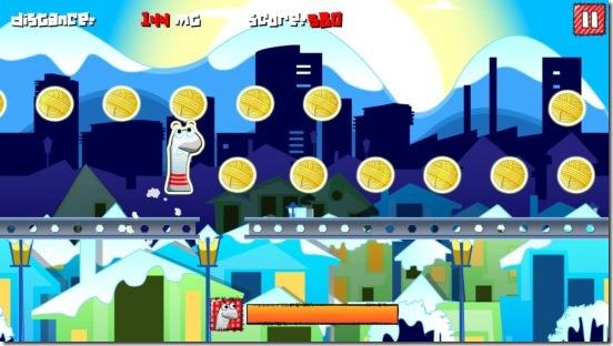 Sock Runner - gameplay