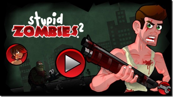 Stupid Zombies 2 - main screen