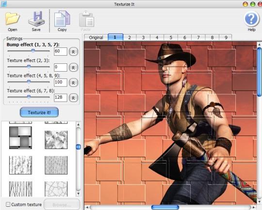 Texturize It- interface