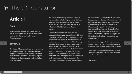 U.S. Constitution - Article 1