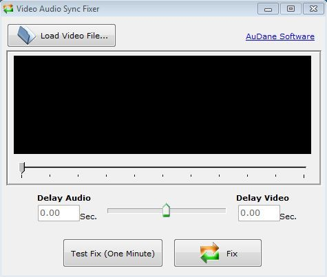 Video Audio Sync Fixer To Fix Audio Sync Problems With Videos