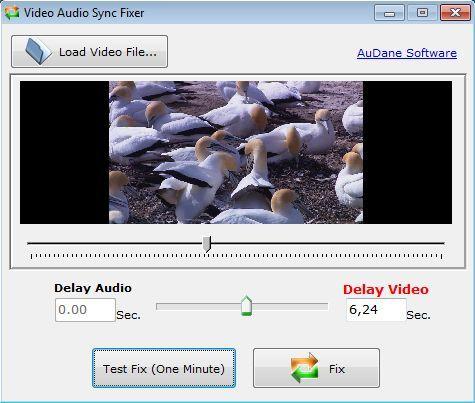 Video Audio Sync Fixer - Working