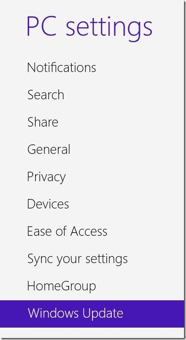 Windows 8.1 - Windows Update