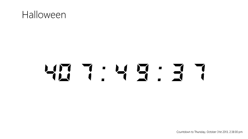 countdown started