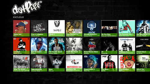 Free Windows 8 Online Music Streaming App For DatPiff com
