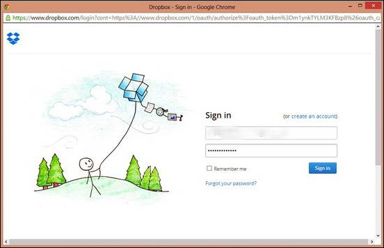 JoliDrive - Adding Dropbox