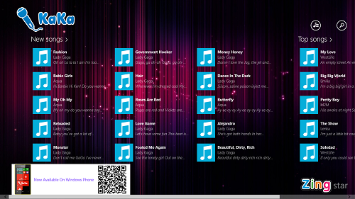 Free Karaoke App For Windows 8: KaKa