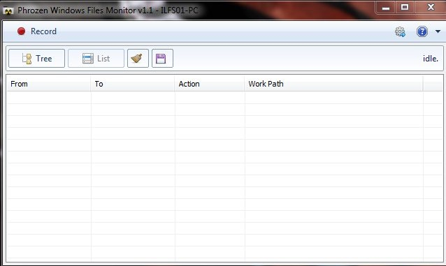 phrozen Windows Files Monitor- icon