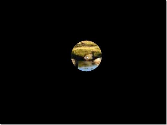 tunnelVision-hide screen-hidden screen