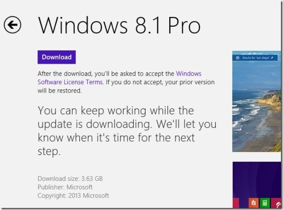 Windows 8.1 - Download Windows 8.1 from Windows Store