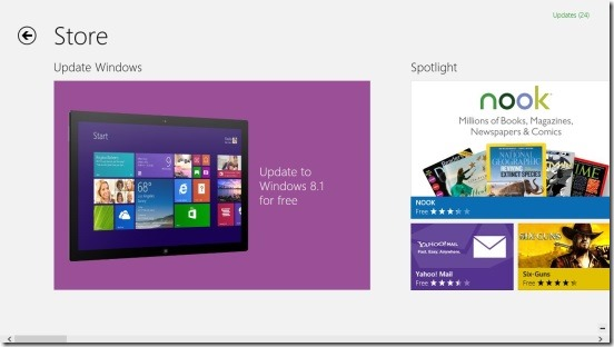 Windows 8.1 - Windows 8.1 in Windows Store