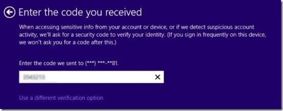 Windows 8.1 - code