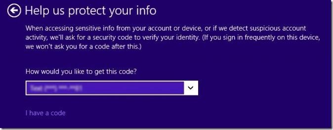 Windows 8.1 - inserting code