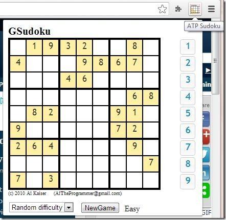 3 Free Sudoku Extensions For Chrome To Play Sudoku On Chrome