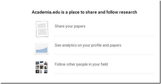 Academia.edu-social network for teachers-home page