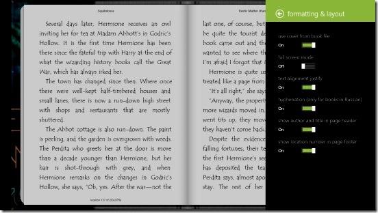 Bookviser - formatting & layout