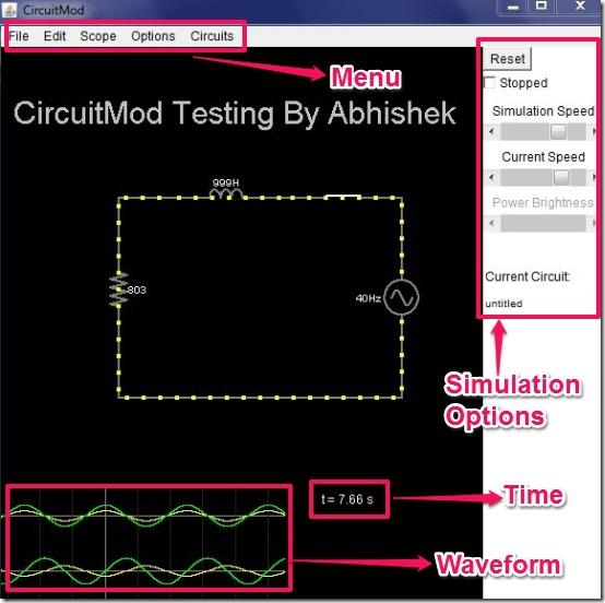 CircuitMod User interface