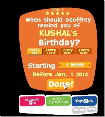 Countdown App-birthday countdown app-set countdown