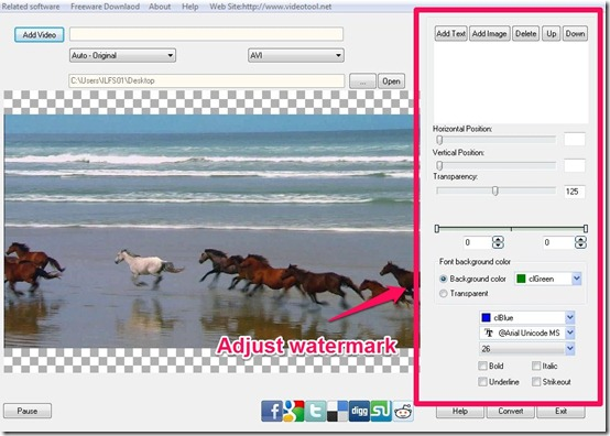 Cute Video Watermark- free watermark software- add watermark