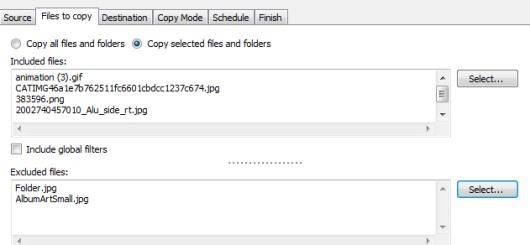 Cyotek CopyTools- select files to copy to destination location