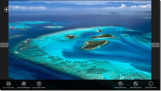 Set Bing Photos As Windows 8 Wallpaper Or Lock Screen