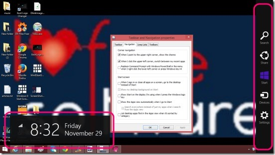 Disable Windows 8.1 Charms - charms